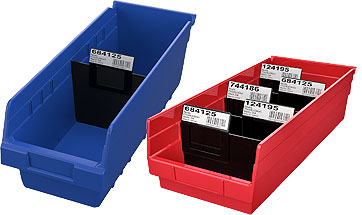 Shelf Bins for Warehouse