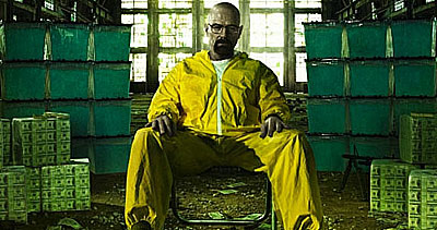 Walter White Using Monster Bins