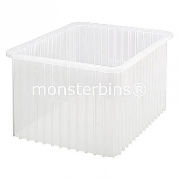 Dg93120cl 23x17 1 2x12 Grid Container Clear