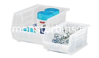 Clear Supply Room Bins