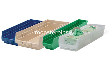 4 Pharmacy Shelf Bins