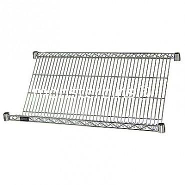 Slanted Wire Shelf - 24x36