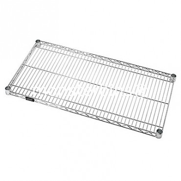 Stainless Steel  - Solid Shelf- 18x48