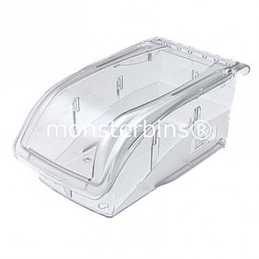 Akro-Mils® InSight Ultra-Clear Bin 7x4x3 (Sold in Cartons of 16) - 305A3
