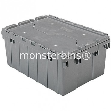 Akro-Mils® 39085 Attached Lid Container