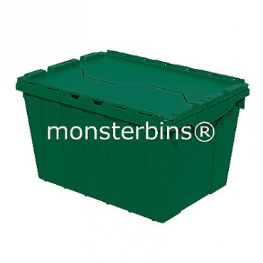 Akro-Mils® 39120 Attached Lid Container