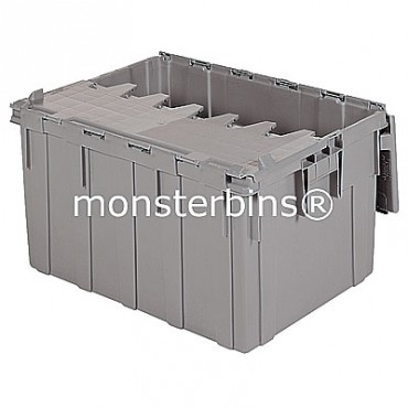 Akro-Mils® 39280 Attached Lid Container