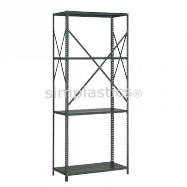 22 Gauge Steel Shelving - 18x42 - 4 Shelves