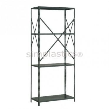 22 Gauge Steel Shelving - 18x42 - 4 Shelves