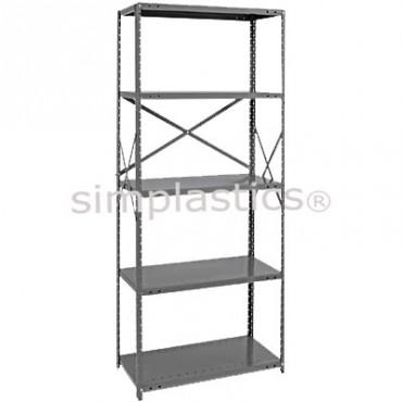 22 Gauge Steel Shelving - 12x36 - 5 Shelves