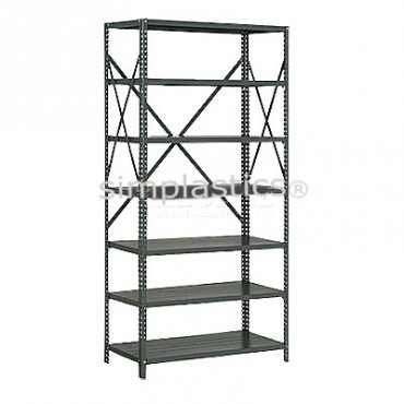22 Gauge Steel Shelving - 12x36 - 7 Shelves