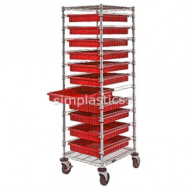 Bin Cart - 21x24x69 with 11 DG93030