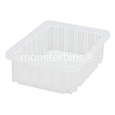 Clear Dividable Grid Container - 11x8x3-1/2