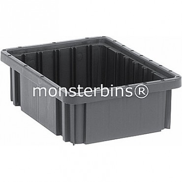 ESD Conductive Dividable Grid Container - 11x8x4