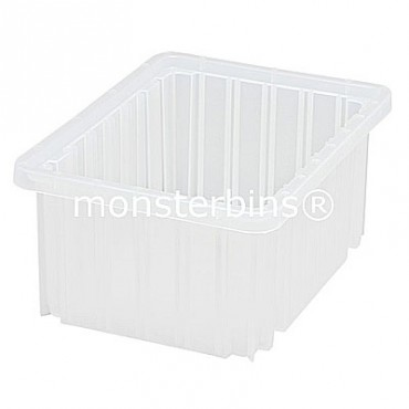 Clear Dividable Grid Container - 11x8x5