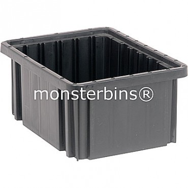 ESD Conductive Dividable Grid Container - 11x8x5
