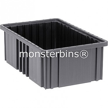 ESD Conductive Dividable Grid Container - 17x11x6