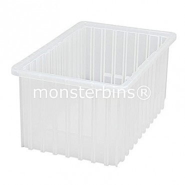 Clear Dividable Grid Container - 17x11x8