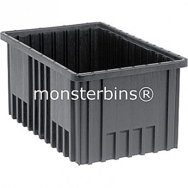ESD Conductive Dividable Grid Container - 17x11x8