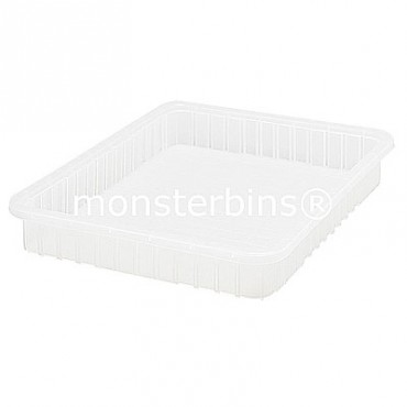 Clear Dividable Grid Container - 23x17-1/2x3