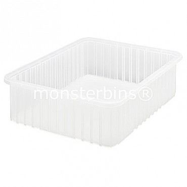 Clear Dividable Grid Container - 23x17-1/2x6