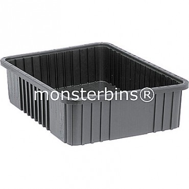 ESD Conductive Dividable Grid Container - 23x18x6