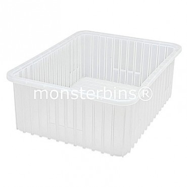 Clear Dividable Grid Container - 23x17-1/2x8