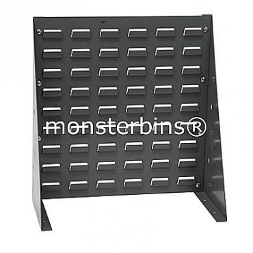 Louvered Bench Rack 18x19 Gray