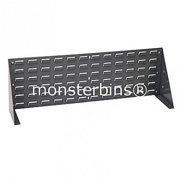 Louvered Bench Rack 27x21 Gray