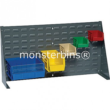 Louvered Bench Rack 36x12 Gray