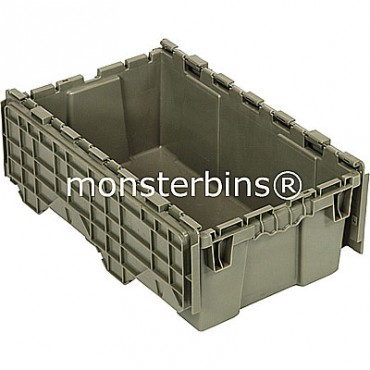 Attached Lid Container - 20x12x7