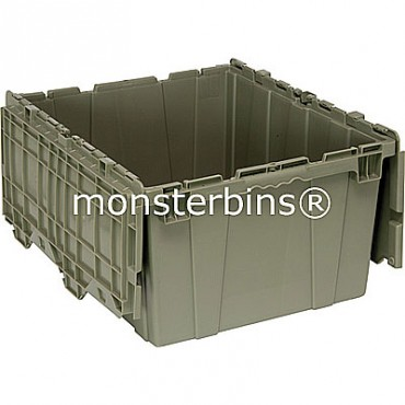 Attached Lid Container - 24x20x12