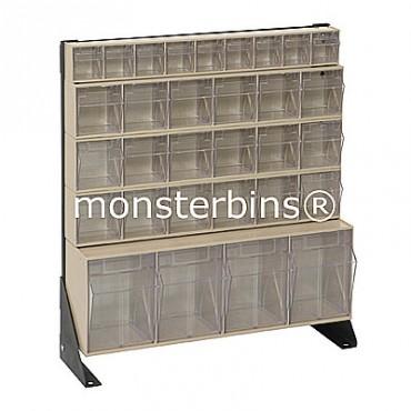 Preconfigured Floor Stand - 1 QTB304, 3 QTB306 and 1 QTB309