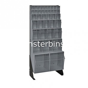 Preconfigured Floor Stand - 1 QTB302, 1 QTB303, 1 QTB304, 1 QTB305, 1 QTB306 and 2 QTB309