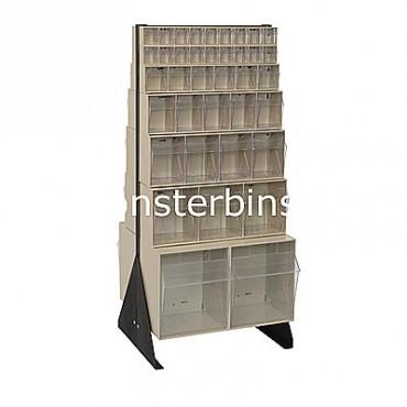 Preconfigured Floor Stand - 2 QTB302, 2 QTB303, 2 QTB304, 2 QTB305, 2 QTB306 and 4 QTB309