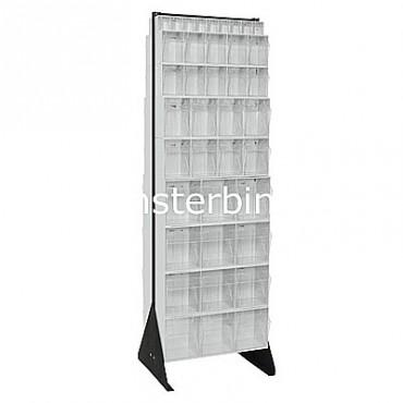 Preconfigured Floor Stand - 8 QTB303, 4 QTB304, 4 QTB305 and 2 QTB306