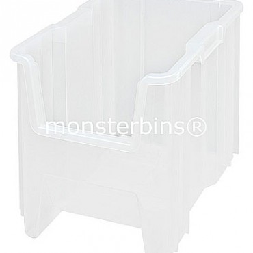 """Clear Giant Stack Container - 17""""x11""""x12"""""""