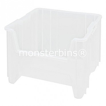 "Clear Giant Stack Container - 17""x16""x12"""