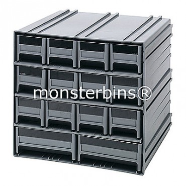 Interlocking Storage Cabinet - 12 IDR201 and 2 IDR203