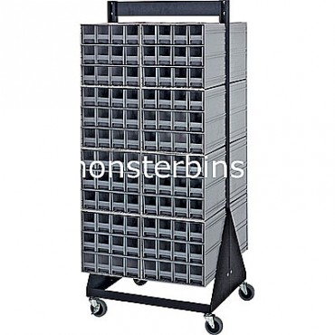 Double-Sided Interlocking Cabinet Floor Stand - 16 QIC-122