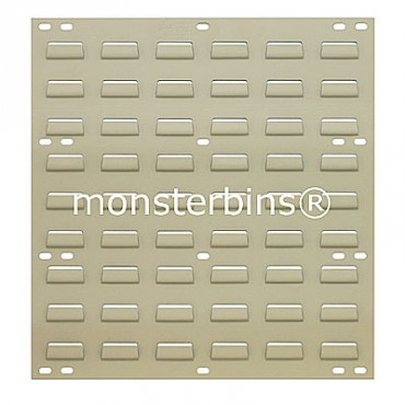 Louvered Panel 18x19 Beige