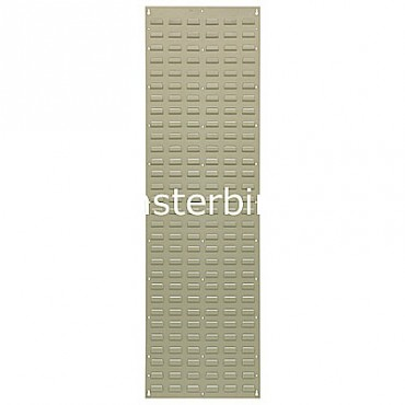 Louvered Panel 18x61 Beige