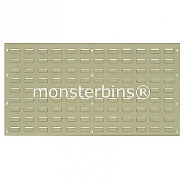 Louvered Panel 36x19 Beige