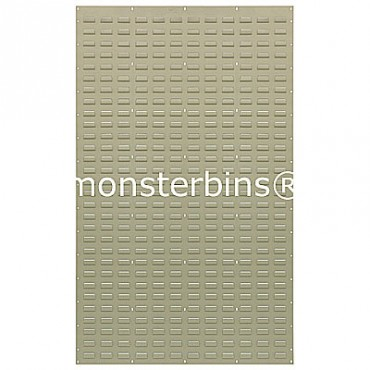 Louvered Panel 36x61 Beige