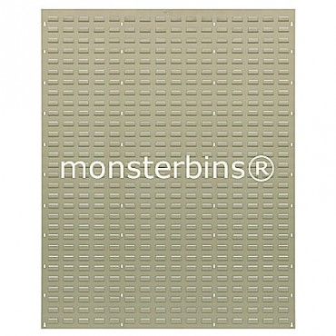Louvered Panel 48x61 Beige