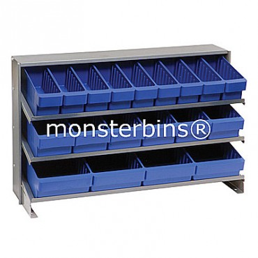 Bench Rack - 3 Shelves - 9 MED501, 6 MED601, 4 MED701
