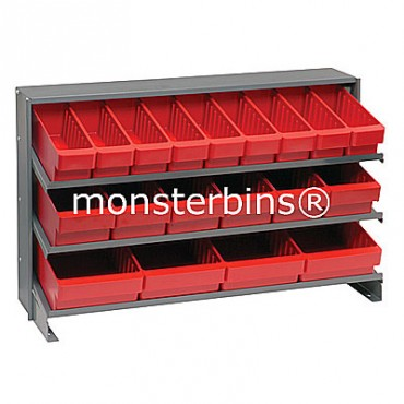 Bench Rack - 3 Shelves - 9 QED501, 6 QED601, 4 QED701