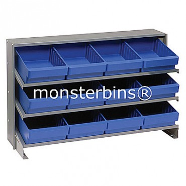 Bench Rack - 3 Shelves - 12 QED701