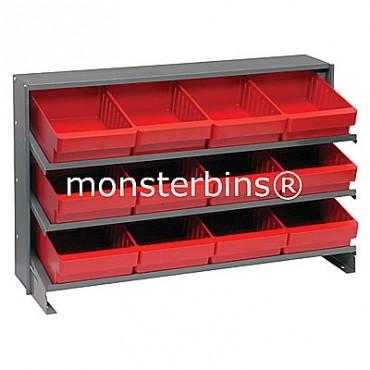 Bench Rack - 3 Shelves - 12 QED701