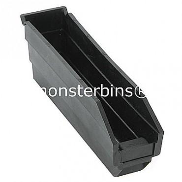Recycled Plastic Shelf Bin 12x3x4
